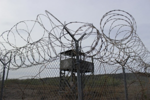 Guantanamo Camp X-Ray, taken June 15, 2013. Photo Credit: mine